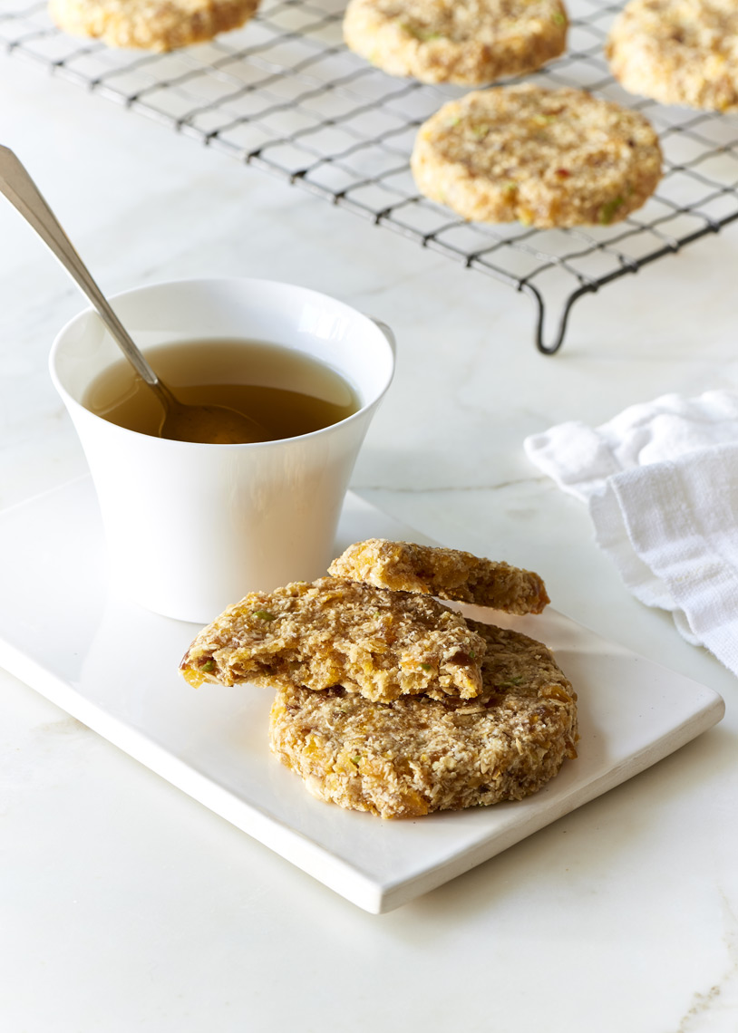 No-Bake-Apricot-Coconut-Oatmeal-Cookies