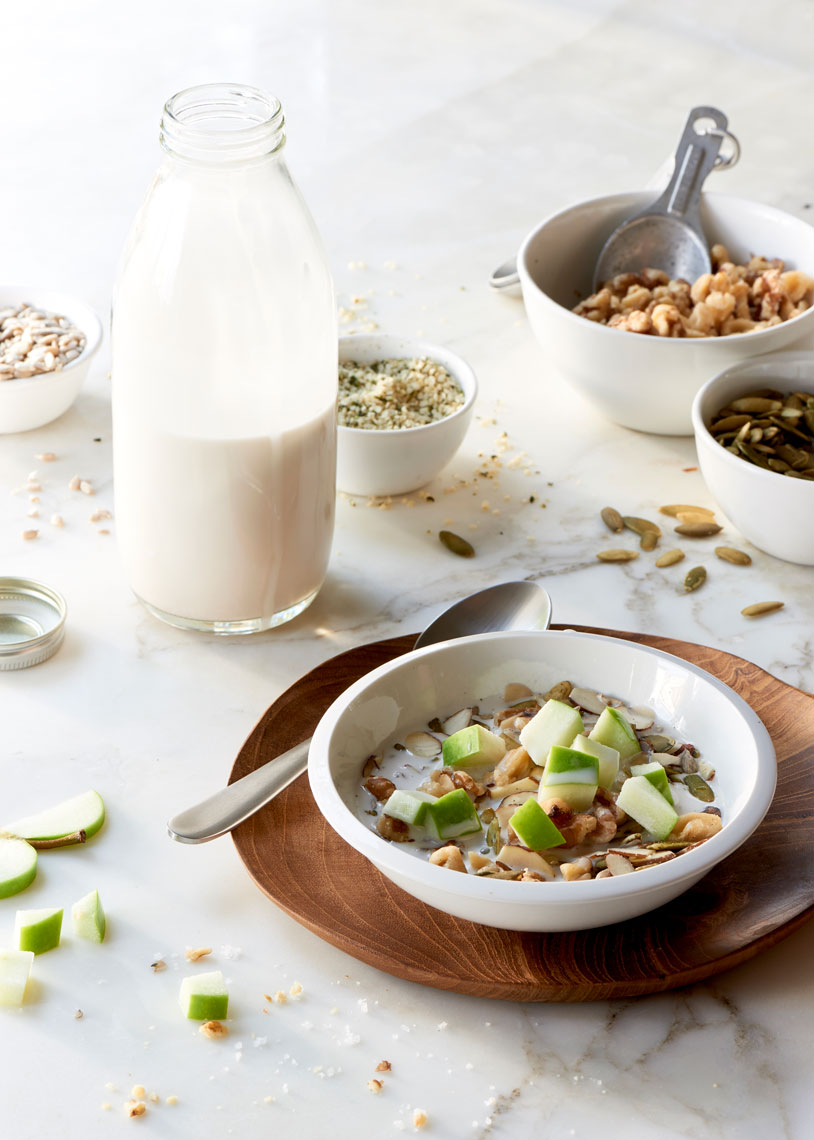 Nutty-Seedy-Cereal-with-Homemade-Almond-Milk
