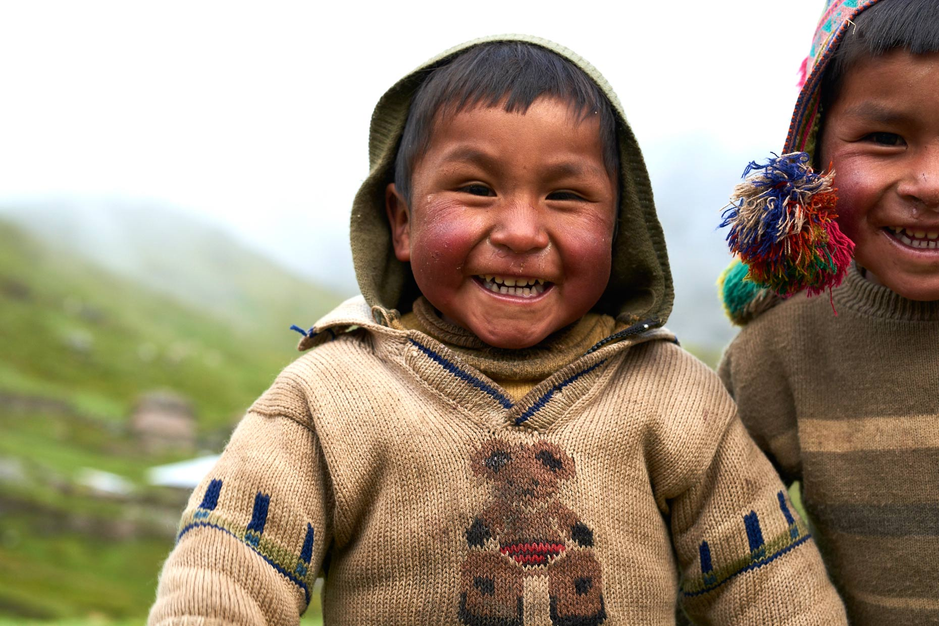 Two-Peruvian-village-boys-smiling